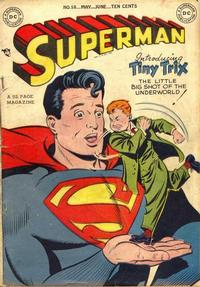 Cover Thumbnail for Superman (DC, 1939 series) #58