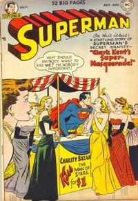 Cover Thumbnail for Superman (DC, 1939 series) #71