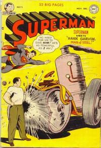 Cover Thumbnail for Superman (DC, 1939 series) #73