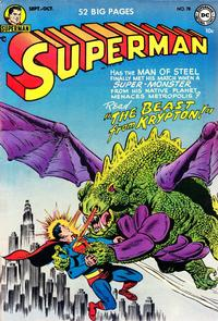 Cover Thumbnail for Superman (DC, 1939 series) #78