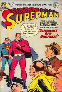 Cover Thumbnail for Superman (DC, 1939 series) #80