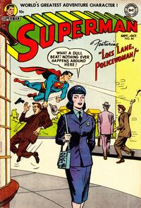 Cover for Superman (DC, 1939 series) #84