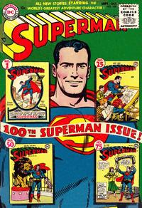 Cover Thumbnail for Superman (DC, 1939 series) #100