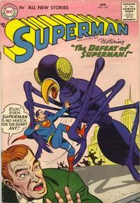 Cover Thumbnail for Superman (DC, 1939 series) #110