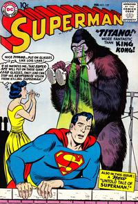 Cover for Superman (DC, 1939 series) #127