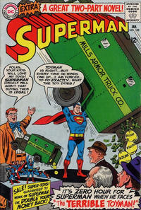 Cover Thumbnail for Superman (DC, 1939 series) #182