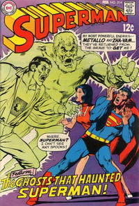 Cover Thumbnail for Superman (DC, 1939 series) #214
