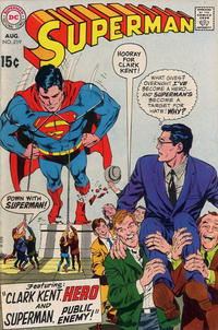 Cover Thumbnail for Superman (DC, 1939 series) #219