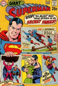 Cover Thumbnail for Superman (DC, 1939 series) #222