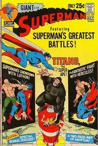 Cover Thumbnail for Superman (DC, 1939 series) #239