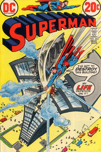 Cover for Superman (DC, 1939 series) #262