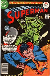 Cover Thumbnail for Superman (DC, 1939 series) #309