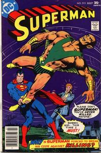 Cover Thumbnail for Superman (DC, 1939 series) #313