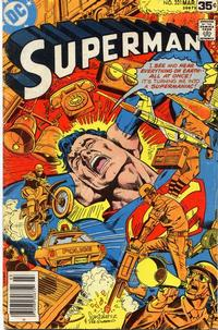 Cover for Superman (DC, 1939 series) #321 [Whitman cover]