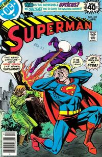 Cover for Superman (DC, 1939 series) #334