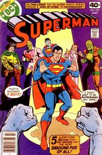 Cover Thumbnail for Superman (DC, 1939 series) #337