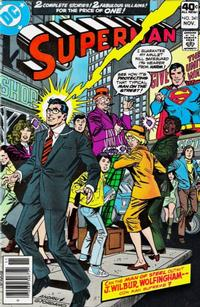 Cover Thumbnail for Superman (DC, 1939 series) #341