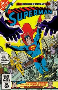 Cover for Superman (DC, 1939 series) #364 [Direct Sales]