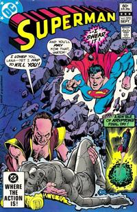 Cover Thumbnail for Superman (DC, 1939 series) #375 [Direct Sales]