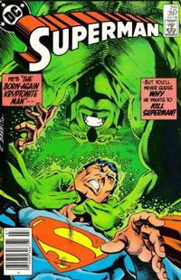 Cover Thumbnail for Superman (DC, 1939 series) #397 [Newsstand]