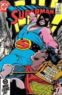 Cover Thumbnail for Superman (DC, 1939 series) #406 [Direct]