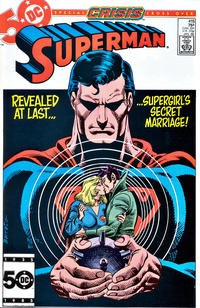 Cover Thumbnail for Superman (DC, 1939 series) #415 [Direct Sales Edition]