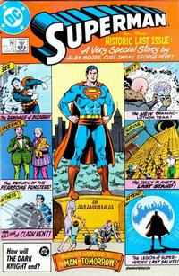 Cover Thumbnail for Superman (DC, 1939 series) #423 [Direct Sales Edition]