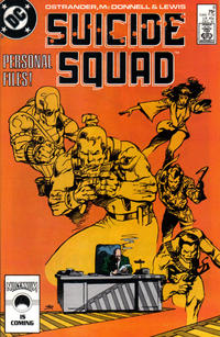 Cover Thumbnail for Suicide Squad (DC, 1987 series) #8 [Direct Sales]