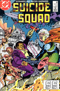 Cover Thumbnail for Suicide Squad (DC, 1987 series) #34