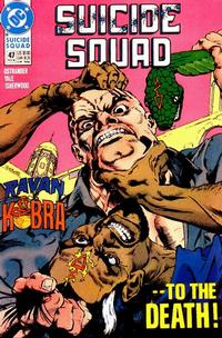 Cover Thumbnail for Suicide Squad (DC, 1987 series) #47