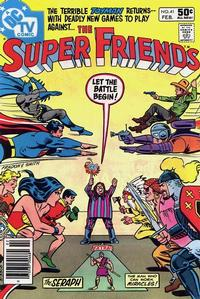 Cover Thumbnail for Super Friends (DC, 1976 series) #41 [Newsstand]