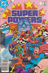 Cover Thumbnail for Super Powers (DC, 1984 series) #5 [Newsstand]