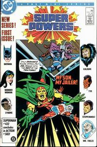 Cover Thumbnail for Super Powers (DC, 1986 series) #1 [Direct]