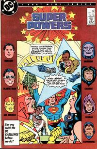 Cover Thumbnail for Super Powers (DC, 1986 series) #2 [Direct]