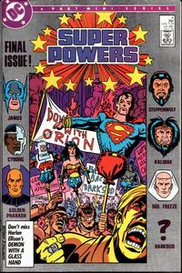 Cover Thumbnail for Super Powers (DC, 1986 series) #4 [Direct]