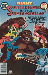 Cover Thumbnail for Super-Heroes Battle Super-Gorillas (DC, 1976 series) #1
