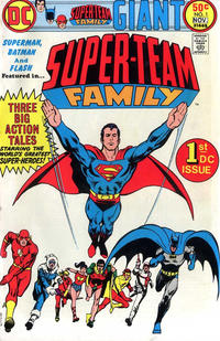 Cover Thumbnail for Super-Team Family (DC, 1975 series) #1