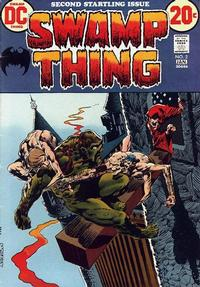 Cover Thumbnail for Swamp Thing (DC, 1972 series) #2