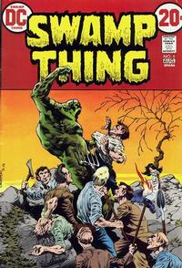Cover Thumbnail for Swamp Thing (DC, 1972 series) #5