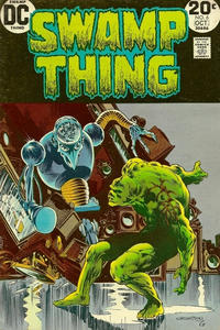 Cover Thumbnail for Swamp Thing (DC, 1972 series) #6