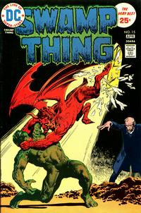 Cover Thumbnail for Swamp Thing (DC, 1972 series) #15