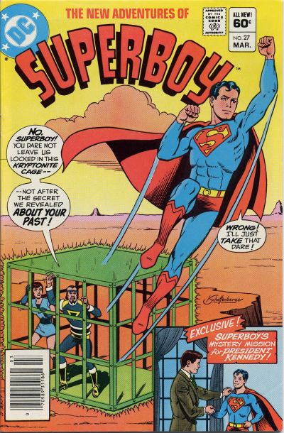 Cover for The New Adventures of Superboy (DC, 1980 series) #27 [Newsstand]