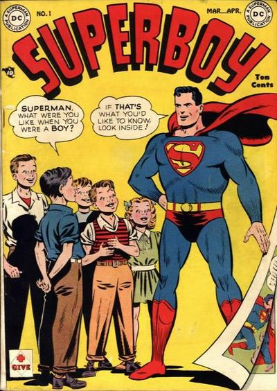 Cover for Superboy (DC, 1949 series) #1