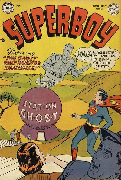 Cover for Superboy (DC, 1949 series) #20
