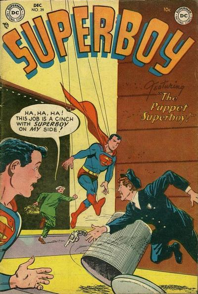 Cover for Superboy (DC, 1949 series) #29