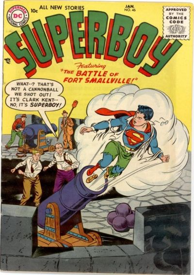 Cover for Superboy (DC, 1949 series) #46
