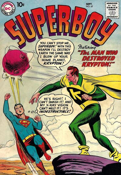 Cover for Superboy (DC, 1949 series) #67