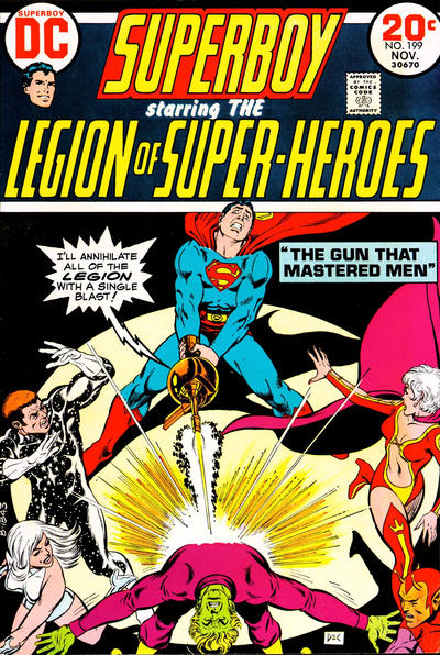 Cover for Superboy (DC, 1949 series) #199