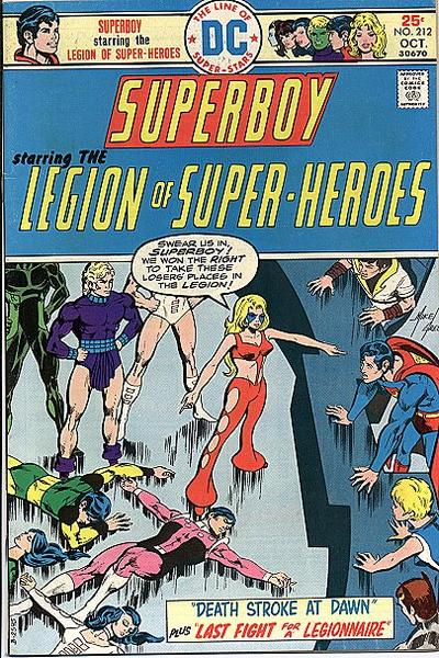 Cover for Superboy (DC, 1949 series) #212