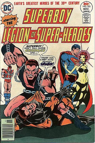 Cover for Superboy (DC, 1949 series) #221